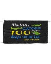 My little gators are 100 days smarter Cloth face mask front