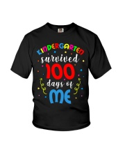 Kindergarten survived 100 days of me Youth T-Shirt thumbnail
