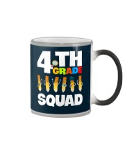 4th Grade Squad school Color Changing Mug thumbnail