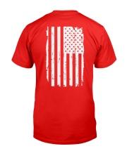 America strong Classic T-Shirt back