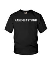 America strong Youth T-Shirt thumbnail