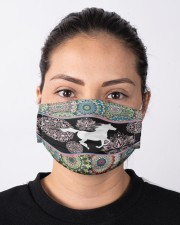 horse mandala mask Cloth Face Mask - 3 Pack aos-face-mask-lifestyle-01