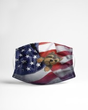 yorkshire terrier usa flag fm Cloth face mask aos-face-mask-lifestyle-22