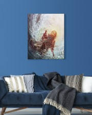 god hand 16x20 Gallery Wrapped Canvas Prints aos-canvas-pgw-16x20-lifestyle-front-06