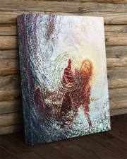 god hand 16x20 Gallery Wrapped Canvas Prints aos-canvas-pgw-16x20-lifestyle-front-19