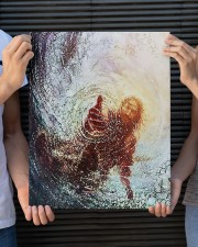 god hand 16x20 Gallery Wrapped Canvas Prints aos-canvas-pgw-16x20-lifestyle-front-24