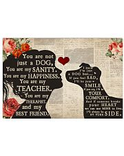 jack russell girl poster  24x16 Poster front