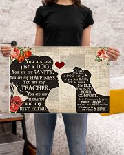 jack russell girl poster  24x16 Poster poster-landscape-24x16-lifestyle-20