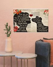 jack russell girl poster  24x16 Poster poster-landscape-24x16-lifestyle-22