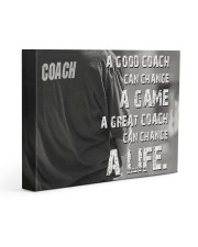 baseball great coach can change a life Gallery Wrapped Canvas Prints tile