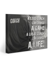baseball great coach can change a life 20x16 Gallery Wrapped Canvas Prints front