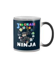 3RD Grade Ninja school Color Changing Mug tile