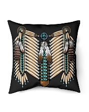 Native mask 3 Indoor Pillow tile