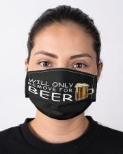 only remove for beer Cloth Face Mask - 3 Pack aos-face-mask-lifestyle-01