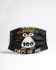 School survived 100 days of me Cloth face mask aos-face-mask-lifestyle-22