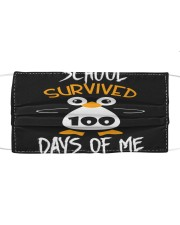 School survived 100 days of me Cloth face mask front