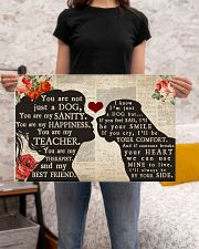 English Mastiff girl poster 24x16 Poster poster-landscape-24x16-lifestyle-20