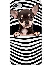 chihuahua Line mask Phone Case thumbnail