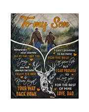 Deer hunting - To my son 1 Quilt tile
