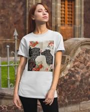 Dog girl t shirt Classic T-Shirt apparel-classic-tshirt-lifestyle-06