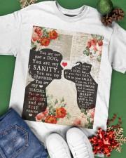 Dog girl t shirt Classic T-Shirt apparel-classic-tshirt-lifestyle-back-69