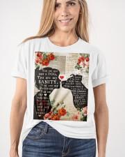 Dog girl t shirt Classic T-Shirt apparel-classic-tshirt-lifestyle-front-101