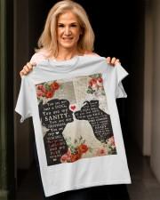 Dog girl t shirt Classic T-Shirt apparel-classic-tshirt-lifestyle-front-118