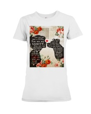 Dog girl t shirt Premium Fit Ladies Tee thumbnail