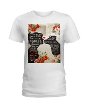 Dog girl t shirt Ladies T-Shirt thumbnail