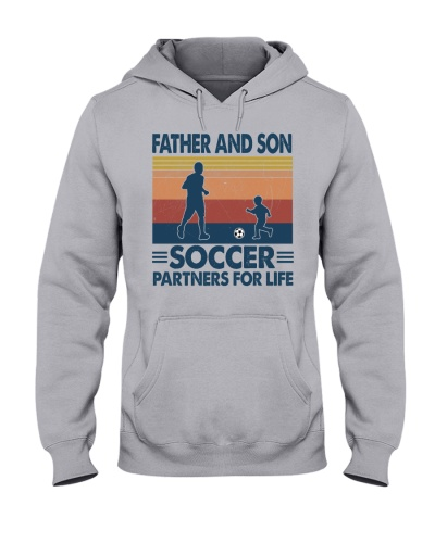 Father and son soccer partners for life