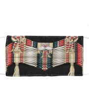 Native clothing mask Cloth face mask front