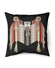 "Native clothing mask Indoor Pillow - 16"" x 16"" thumbnail"