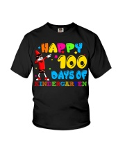 Happy 100 days of kindergarten Youth T-Shirt thumbnail