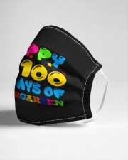 Happy 100 days of kindergarten Cloth face mask aos-face-mask-lifestyle-21