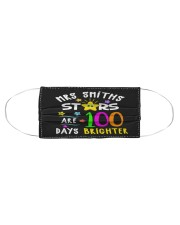 Mrs Smiths starts are 100 days brighter Cloth face mask aos-face-mask-coverlet-lifestyle-front-01