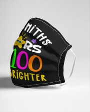 Mrs Smiths starts are 100 days brighter Cloth face mask aos-face-mask-lifestyle-21