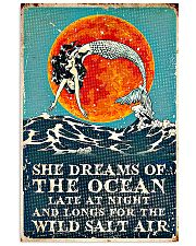 She dreams of the ocean 11x17 Poster front
