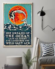 She dreams of the ocean 11x17 Poster lifestyle-poster-1