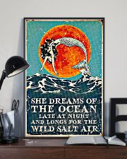 She dreams of the ocean 11x17 Poster lifestyle-poster-2