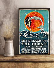 She dreams of the ocean 11x17 Poster lifestyle-poster-3