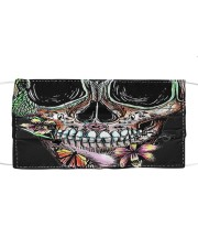 skull 2 Cloth face mask front