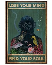 Scuba diving find your soul 11x17 Poster front