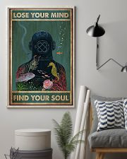 Scuba diving find your soul 11x17 Poster lifestyle-poster-1