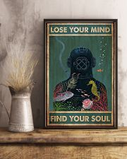 Scuba diving find your soul 11x17 Poster lifestyle-poster-3
