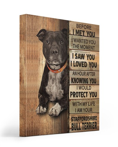 staffordshire bull terrier would protect you
