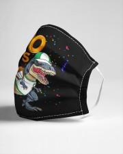 Dinosaur 100 days school Cloth face mask aos-face-mask-lifestyle-21