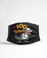 Dinosaur 100 days school Cloth face mask aos-face-mask-lifestyle-22
