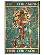 Girl hiking lost your my find your soul 24x36 Poster front
