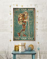 Girl hiking lost your my find your soul 24x36 Poster lifestyle-holiday-poster-3