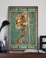 Girl hiking lost your my find your soul 24x36 Poster lifestyle-poster-2